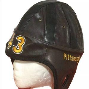 Pittsburgh Steelers TROY POLAMALU #43 Helmet Hat
